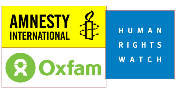 ONG E MIGRANTI: Amnesty International, Oxfam, Human Rights Watch